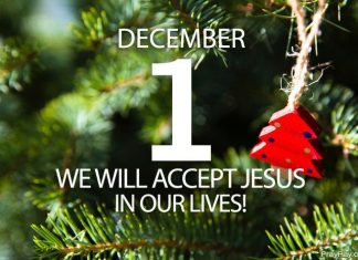 accept Jesus Christ in your life