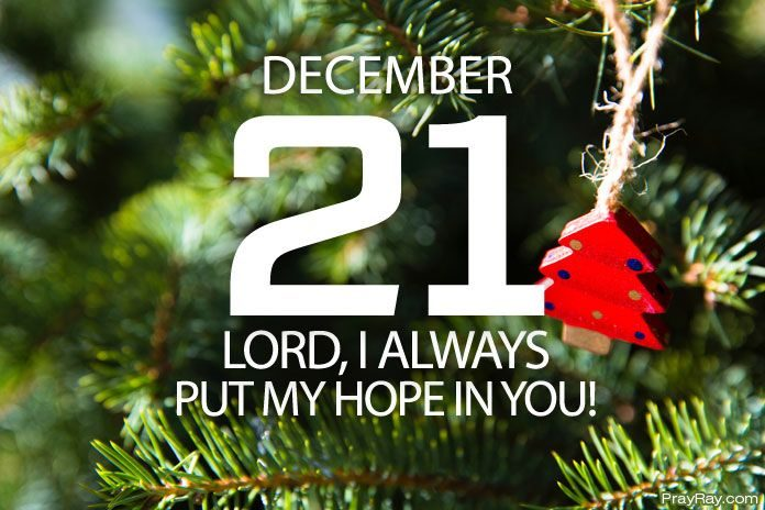 always put your hope in god