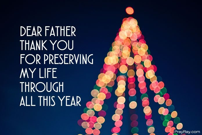 thank you god for the year