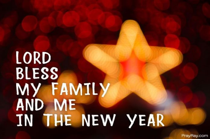 prayer for entering the new year