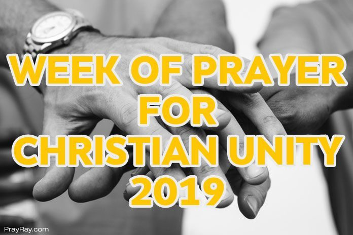 week of prayer for Christian unity 2019