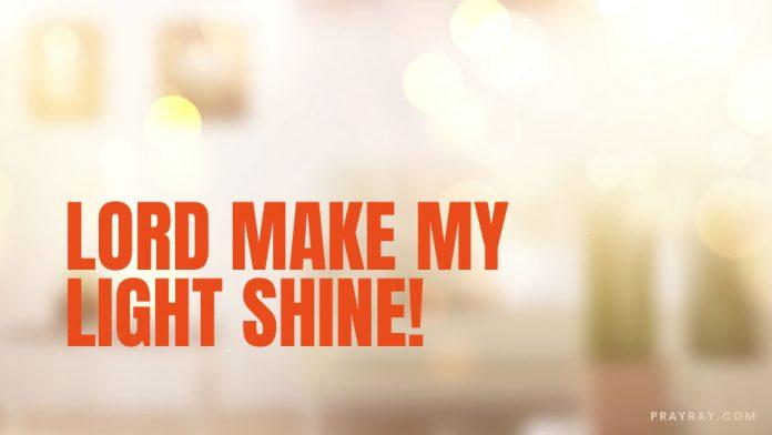 Daily prayer light of the world