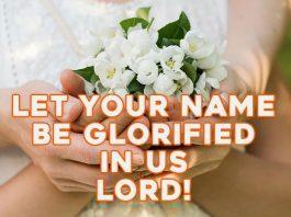 Blessing prayer