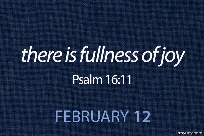 fullness of joy in the presence of God