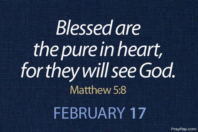 having a pure heart