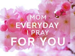 pray for mothers