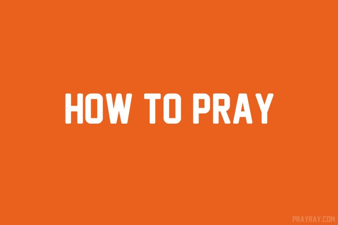 how to pray to God