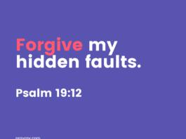 confess our sins