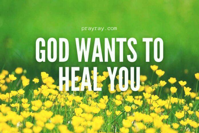 prayer to God for healing